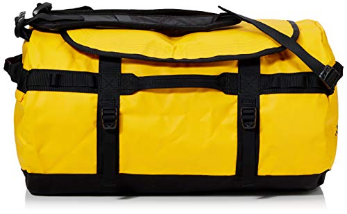 The North Face Base Camp Duffel Sports Bag, Unisex Adult, Gold (Summit Gold / TNF Black), L