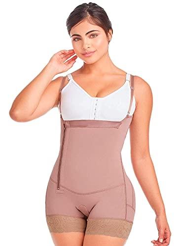 DELIÉ by Fajas DPrada 09046 Fajas Colombianas Postpartum Girdle Full Body Shaper for Women
