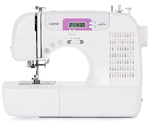 Brother CX70PE (Patchwork Edition) - Máquina de coser electrónica con 70 puntadas de costura (útiles, elásticas, decorativas), costura Automática, Display multifunción