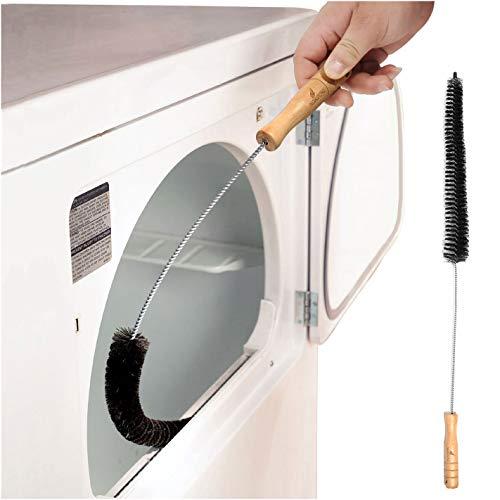 Noa Store Secadora de ropa pelusa Vent Trampa cepillo más limpio de gas de escape eléctrico de Prevención de Incendios - Hecho de acero inoxidable (paquete de 1)