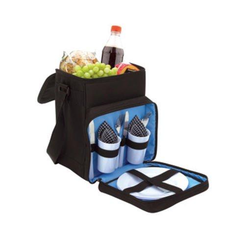 Koozie excursión Picnic Kit - refrigerador bolso grande almorzar Camping playa cesta