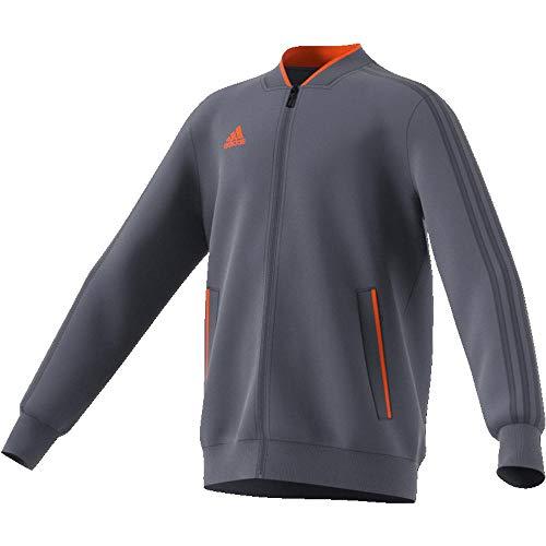 adidas Kinder Condivo 18 Trainingsjacke, Onix/Orange, 152