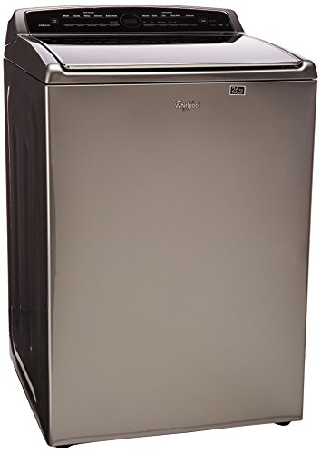Whirlpool 7MWTW8500EC Lavadora Carga Superior, 26 Kg, color Chrome Shadow