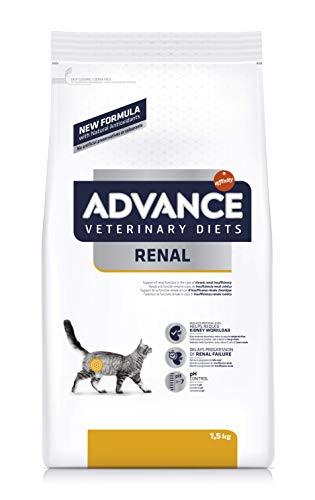 ADVANCE Veterinary Diets Renal Failure - Pienso para Gatos con Problemas Renales - 1,5kg