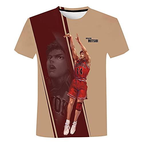 HOUDADA Slam Dunk Baloncesto Hombre Camiseta Hombre NBA Slam Dunk Men's Hooded Sweatshirt Sudaderas con Capucha para Hombre