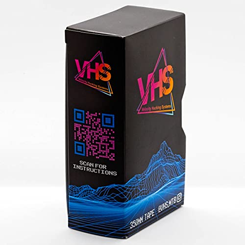 VHS 2.0 Slapper Chain Guard Bike Tape Noise Reducer - Eliminate Chain Slap Noise On Your Bike While Protecting Your Frame - Fits All Chainstays