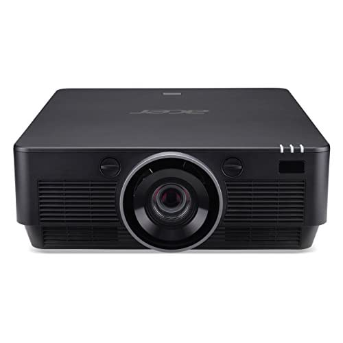 Acer P8800 Proiettore, Risoluzione 4K, Contrasto 1.200.000:1, Luminosità 5.000 ANSI, Connessione VGA/DP/HDMI, Ethernet Port, Nero
