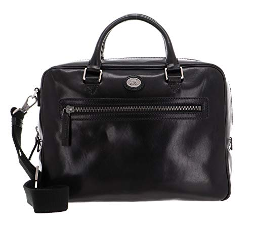 The Bridge Story Uomo borsa pelle 37 cm nero