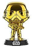 STAR WARS Funko Pop Chrome Stormtrooper – Figura realizada en Vinilo y de Unos 9 cm de Altura (2019 Galactic Convention)