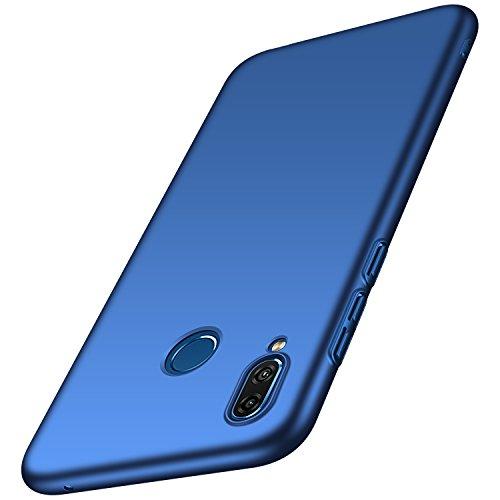 Anccer Cover Huawei Honor Play [Serie Colorato] di Gomma Rigida Protezione Da Cadute e Urti Huawei Honor Play (Azzurro liscio)