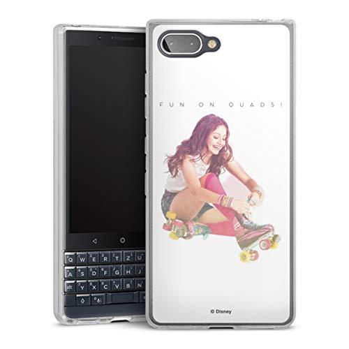 DeinDesign Silikon Hülle kompatibel mit BlackBerry Key2 LE Hülle transparent Handyhülle Soy Luna Offizielles Lizenzprodukt Disney