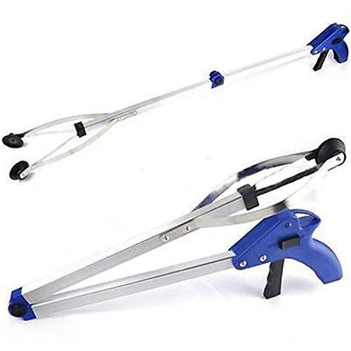 Niumani 1 unid plegable basura recolección herramienta jardín estilo brazo largo alcance garra conveniente para personas con discapacidad de movilidad 82 cm herramientas auxiliares