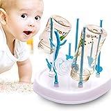 Leikance - Soporte para secar biberones de bebé, plástico