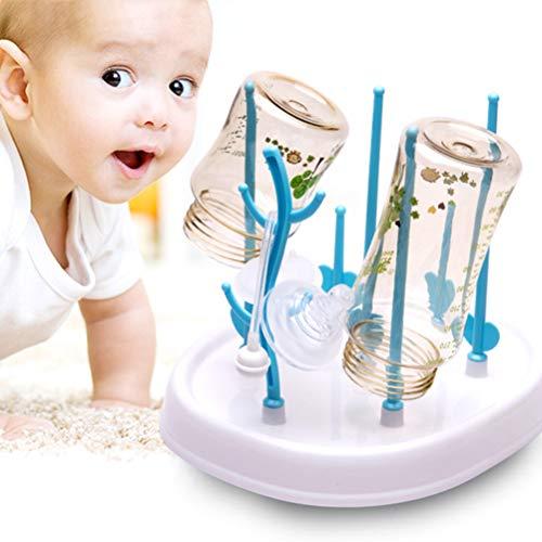 Babyflaschen-Abtropfgestell, Aufbewahrung, Organizer, Mehrzweck-Trockengestell zum Trocknen von Flaschen, Saugern, Tassen, Pumpenteilen und Zubehör