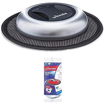 Vileda Virobi Robot limpiador mopa autónomo, Plástico, Plateado + ...