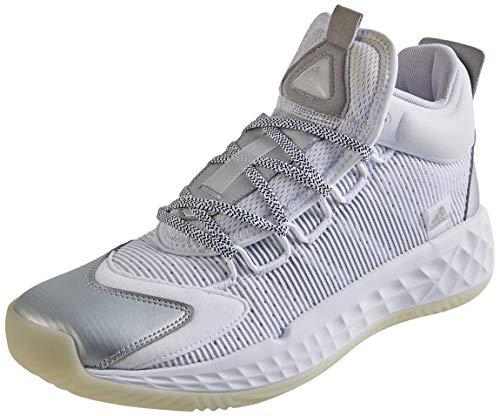 adidas Pro Boost Mid, Zapatillas Unisex Adulto, FTWBLA/Plamet/Blatiz, 50 EU