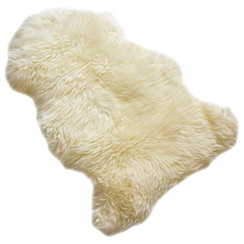 ラ・ムートン ムートンラグ 子羊一匹物 (アイボリー)