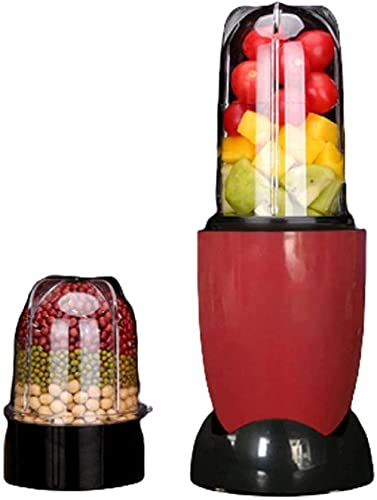 HYLK Blender And Food Processor, Power Grinder With Stainless Steel Blades Milkshake And Smoothie Ice, making smoothies, protein shakes and more,2 cups 2 knives