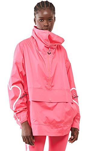 adidas by Stella McCartney Women's ASMC HZ Mid Jacket, Pink, Large