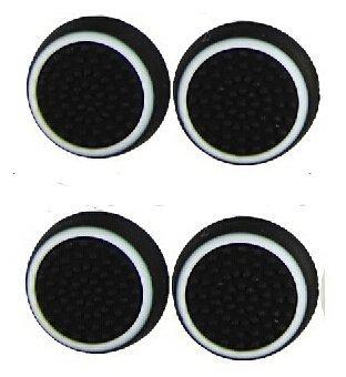 Canamite-Daumengriffe, für PS4 / PS3 / Xbox One / Xbox One S / Xbox 360 / 4 Stück, weiß