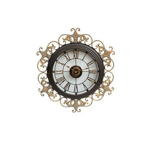 Vinteen Continental Uhr Wanduhr Wohnzimmer Ultra Große Kreativität Persönlichkeit Vintage Atmosphäre Uhr Haushalt Kunst Taschenuhr Silent Horologe