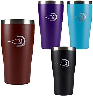 DRINKTANKS DrinkTanks ドリンクタンクス CUPs 16oz (473ml) 真空断熱カップ 蓋付き コップ タンブラー 保冷 保温 4カラー展開【C1】