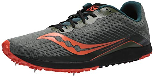 Saucony Kilkenny XC 8 Men's Cross Country Running Shoe, Pine, 9.5