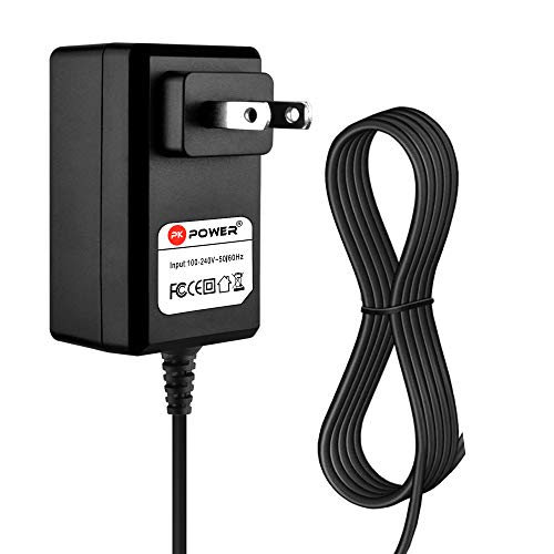 PKPOWER6.6FTCable AC Adapter for Yamaha DTXPL Drum Trigger Module Wall Charger; Yamaha P-35 P35 P35-B P35B Digital Piano Keyboard Keys Power Supply Cord