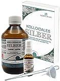 Liquid for Life Argento colloidale 25ppm - 500ml di acqua d'argento - in CONFEZIONE DI PROTEZIONE DELLA RADIAZIONE - con flacone spray da 30 ml e accessori