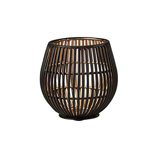 Butlers Yoko Metall Teelichthalter Höhe 9 cm