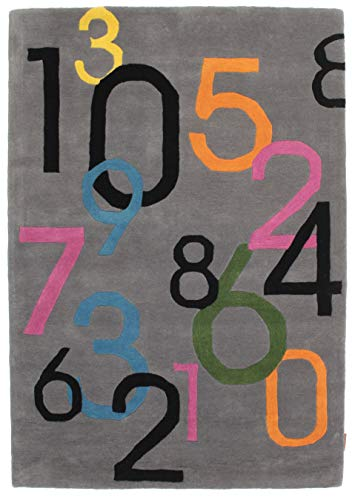 CarpetVista Alfombra Lucky Numbers 120x180 Alfombra Moderna