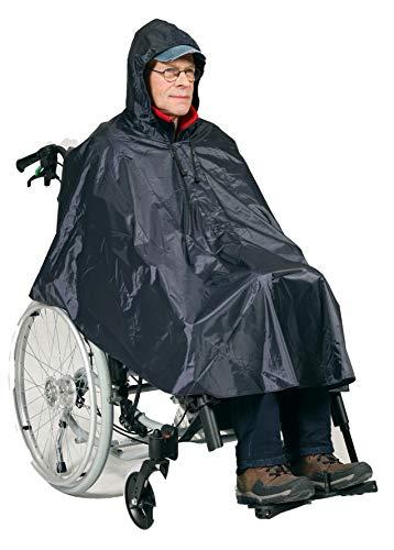HeRo24 Regenponcho- Rollstuhl-Fahrradponcho-Regenschutz