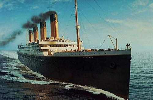 leomuzi Puzzle 1000 Pieces Titanic Puzzles Jigsaw Puzzle die ganze Familie stressfreisetzung Spielzeug für-Wooden