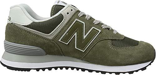 New Balance Herren 574v2-Core Sneaker, Grün (Olive), 42.5 EU