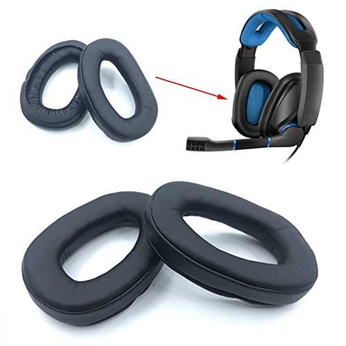 BAAQII - Almohadillas de Repuesto para Auriculares Sensheiser GSP 300, 350, 301, 302, 303, 303