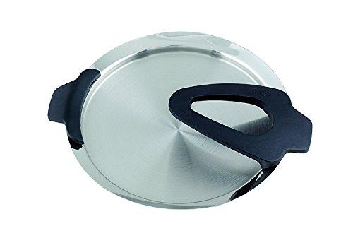 Fissler 1611816600 Intensa Deckel ohne Thermostar, Durchmesser 16 cm, schwarz