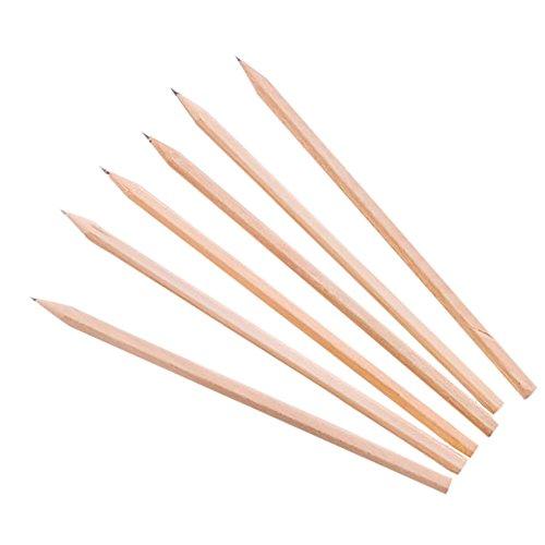BIGBOBA 10 Stück HB Bleistift aus Holz Student Schreibwaren Bleistiftsatz Professionell Malen Skizze Bleistift Kind Graffiti Bleistift 17.7 * 0.7CM