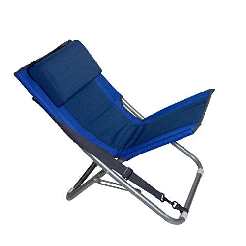 Fauteuils inclinables Fauteuils et Chaises Tatami Chaise Pliante de Dos en Plein air Chaise portative de Camping apportez Votre Propre Chaise de pêche de Plage d'oreiller