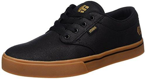 Etnies Mens Jameson 2 ECO Skate Shoe, Black/Bronze, 10.5 Medium US