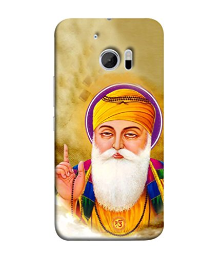 Printvisa Designer Back Cover for HTC 10, HTC One M10 (Illustration Celebration Religious Founder Spiritual Tradition Beautiful Blessing)