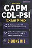 CAPM-CDL-PSI Exam Prep [3 Books in 1]: The Foolproof Guide with Tens of Question and Answers for Your Personal Management, Commercial Driver and Real Estate License (2021-22)