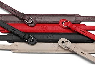 Leica Leather Neck Strap for TL/T Mirrorless Digital Cameras (Red)