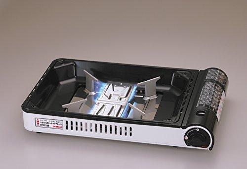 イワタニ【カセットこんろとしても使える】カセットガスホットプレート焼き上手さんα(アルファ)CB-GHP-A