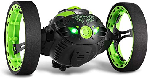 GBlife 2.4Ghz Wireless Remote Control Jumping RC Toy Cars Bounce Car No WiFi for Kids(Green)