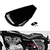 TCT-MT ABS Left Battery Side Cover fit For Harley Sportster 883 1200 XL883 2004-2013 Iron 883 XL883N Forty Eight XL1200X Black 2012