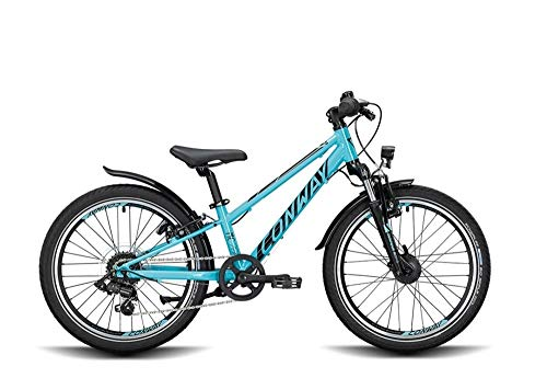 ConWay MC 200 Suspension Kinder Mountainbike Kinderfahrrad MTB Fahrrad Turquoise/Black 2020