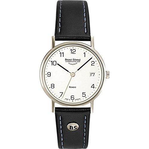 Bruno Söhnle Damen Analog Quarz Uhr mit Leder Armband 17-13106-221