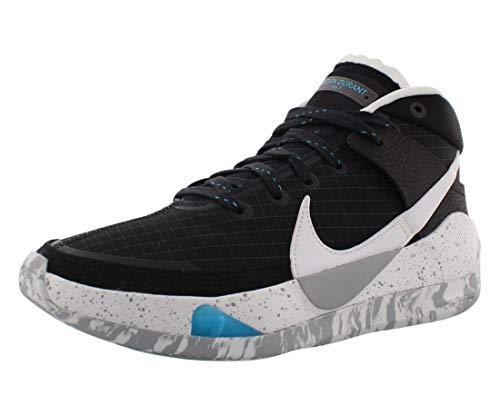 Nike Kd13 Uomini Pallacanestro Scarpa Ci9948-001, nero (nero/bianco/grigio lupo), 40.5 EU