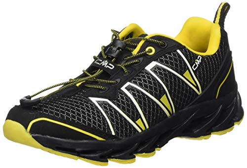 CMP – F.lli Campagnolo Unisex-Kinder Kids Altak Trail Shoe 2.0 Traillaufschuhe, Schwarz (Nero-Yellow Fluo 64UE), 30 EU