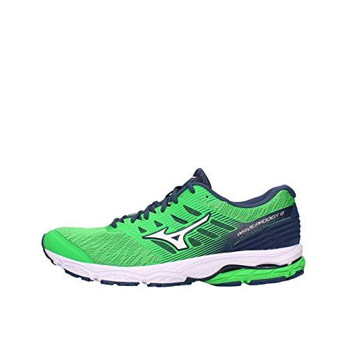 Mizuno J1GC1810-20 Correr Hombre Verde 44
